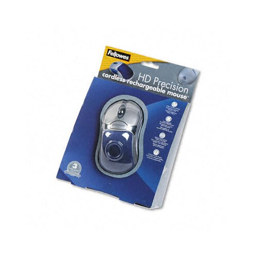 Fellowes Mfg. Co. 98904 5 Button HD Cordless Mouse