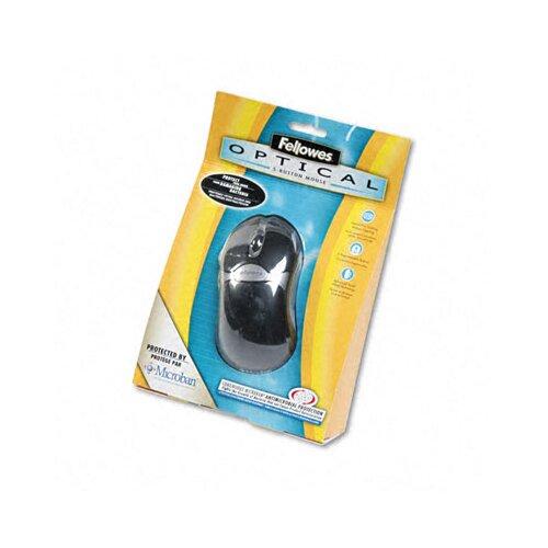 Fellowes Mfg. Co. 98913 5 Button Microban Optical Mouse