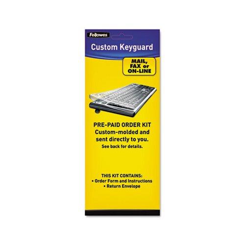 Fellowes Mfg. Co. Keyboard Protection Kit, Custom Order, Polyurethane
