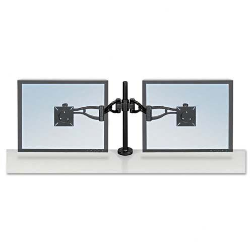 Fellowes Mfg. Co. Desk-Mount Dual Monitor Arm