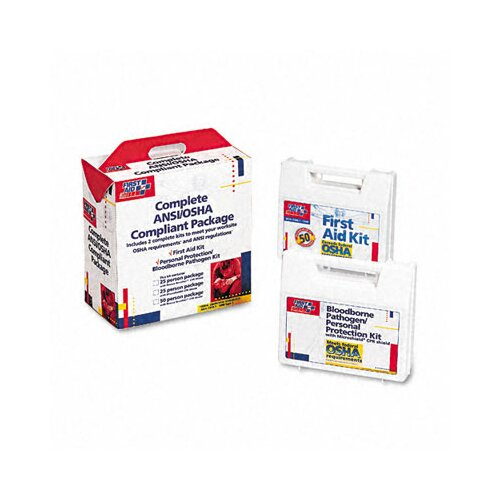 First Aid Only™ First Aid Kit for 50 People, 229 Pieces, Ansi/Osha Compliant, Plastic Case