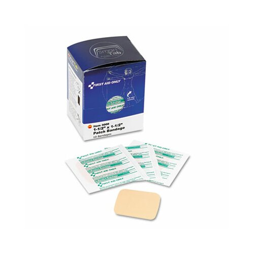 First Aid Only™ Patch Bandages, Smartcompliance Refill, 10 Bandages/Box