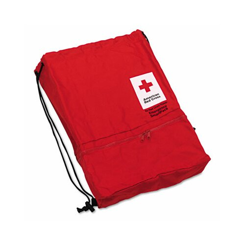 First Aid Only™ American Red Cross Emergency Smartpack for One Person, Nylon Case