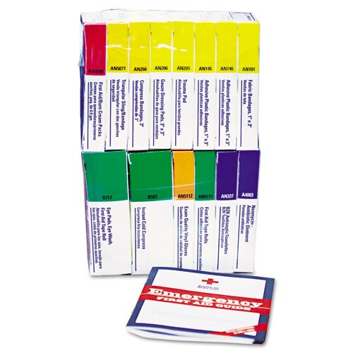 First Aid Only™ First Aid Kit Refill For 16 Unit