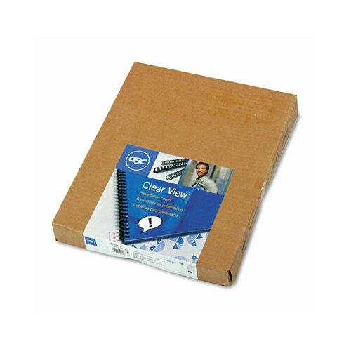 GBC® Swingline Clear View Presentation Binding System Cover, 11 X 8-1/2, 100/Box