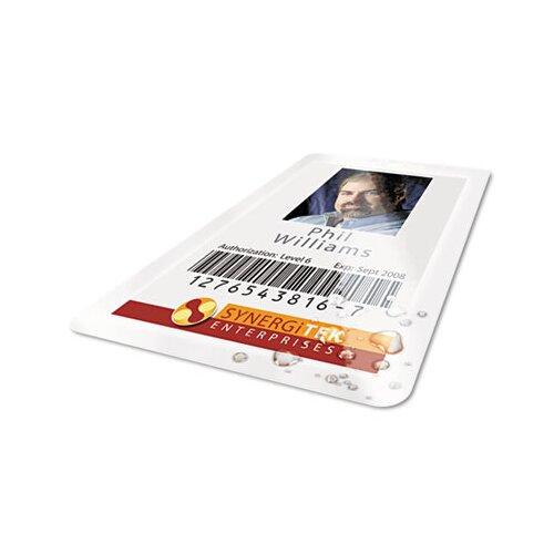 GBC® HeatSeal Thermal Laminating Pouch, 5 mil, 2-9/16 x 3-3/4, ID Size, 100