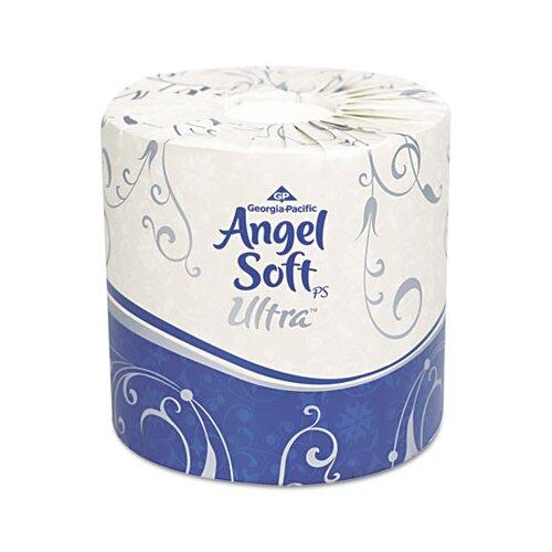 Georgia Pacific Angel Soft Ps Ultra Ultra Premium 2-Ply Toilet Paper - 400 Sheets per Roll / 60 Rolls per Carton