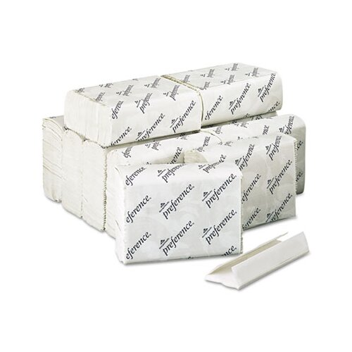 Georgia Pacific Preference C-Fold 1-Ply Paper Towel - 200 Sheet per Pack / 12 Packs per Carton