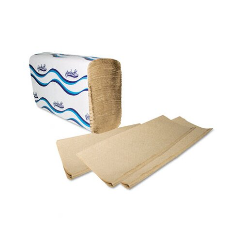 Georgia Pacific Windsoft Embossed Multifold 1-Ply Paper Towels - 250 Sheet per Pack / 16 Pack per Carton
