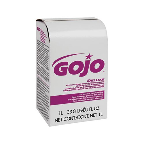GOJO Industries Nxt Lotion Soap with Moisturizer Refill, Light Floral Liquid, 1000Ml Box, 8/Carton