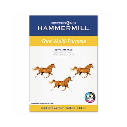 Hammermill Fore MP Copy/Laser/Inkjet Paper, 96 Brightness, 20lb, 8-3/8 x 11-3/4, 500 Sheets