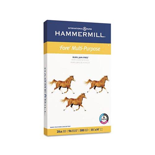 Hammermill Fore Mp Multipurpose Paper, 96 Brightness, 20 Lb, 500/Ream