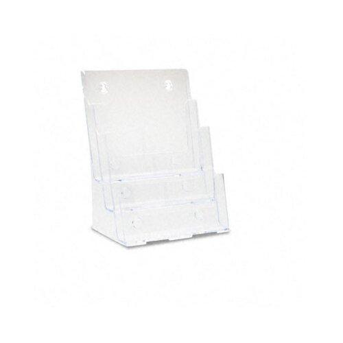 Deflect-O Corporation 3 Pocket Large Desktop Display Rack