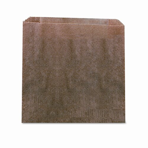 Hospital Specialty Waxed Kraft Liners, 9 x 10 x 3 1/4, 250 per Carton