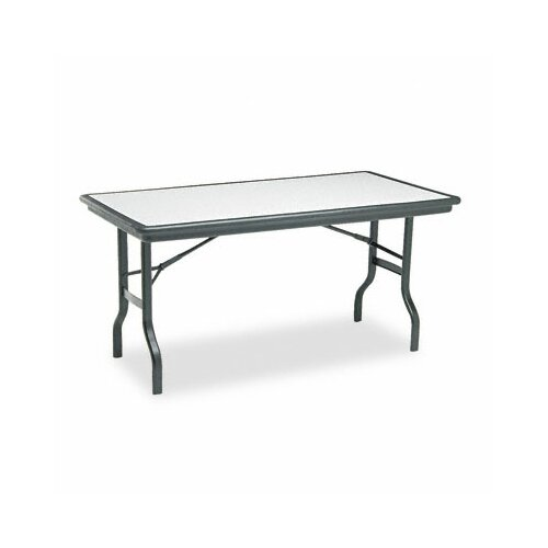 "Iceberg Enterprises Iceberg Indestruc-Tables Too™ 60"" Rectangular Folding Table"