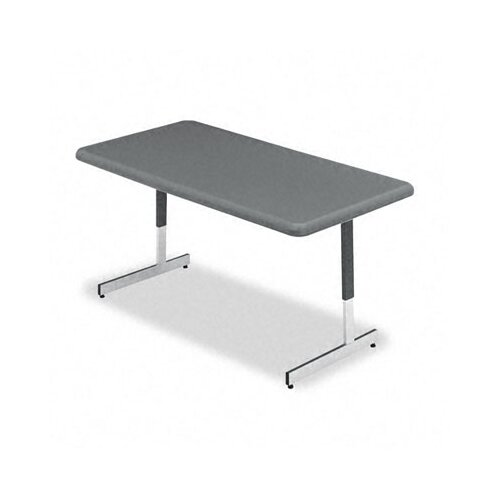 """Iceberg Enterprises Indestructable Too Resin 61"""" W x 30"""" D Utility Table"""