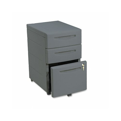 Iceberg Enterprises Iceberg Aspira 3-Drawer Mobile Underdesk Pedestal File