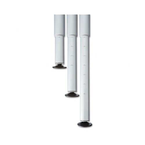 Iceberg Enterprises Officeworks Teaming Table Adjustable Height Leg Set, Pair