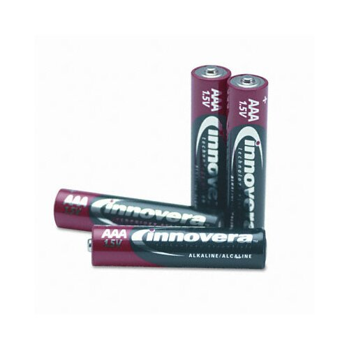 Innovera® Alkaline Battery, 24/Pack