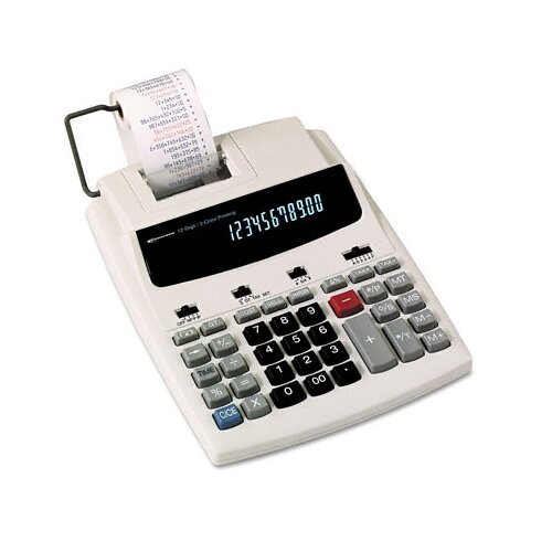 Innovera® Roller Printing Calculator, 12-Digit Fluorescent