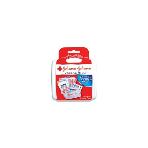Johnson & Johnson Aid To Go!® Mini First Aid Kit