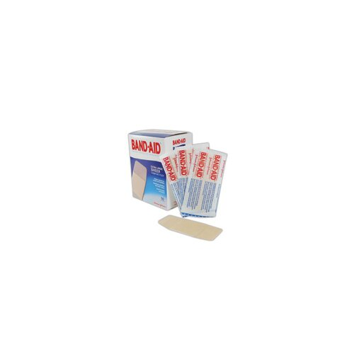 "Johnson & Johnson X 4"" Band-Aid® Brand Extra Large Flexible Sheer Bandage (50 Per Box)"