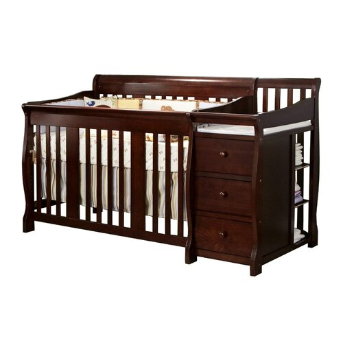 Storkcraft Portofino Fixed Side Convertible Crib Changer