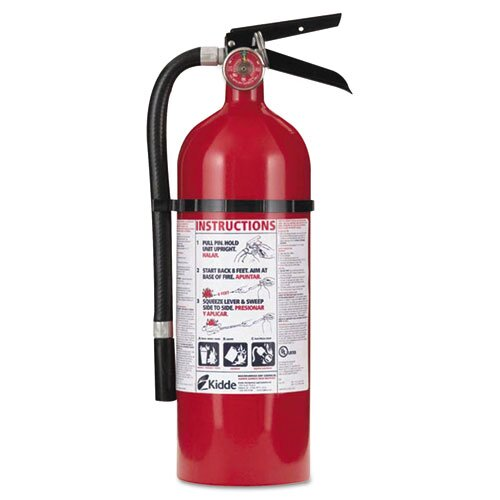 Kidde Fire and Safety Pro 210 Fire Extinguisher