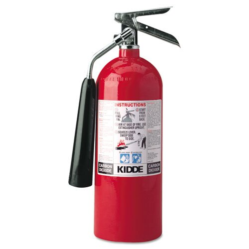 Kidde Fire and Safety Proline Pro 10 Carbon Dioxide Fire Extinguisher