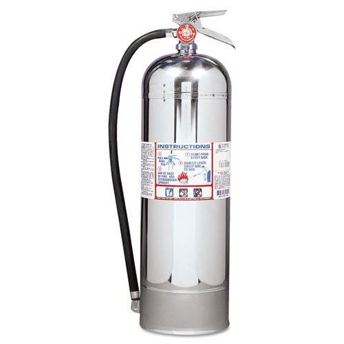 Kidde Fire and Safety Proline Water Fire Extinguisher