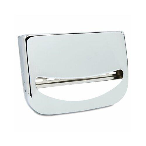 Krystal Wall-Mount Toilet Seat Cover  Dispenser, Chrome, 1 EA