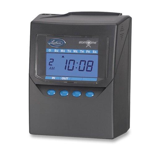 "Lathem Time Company Calculating Time Recorder, 6""x5""x8"", Black"
