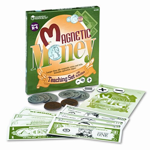 Learning Resources® Magnetic Money