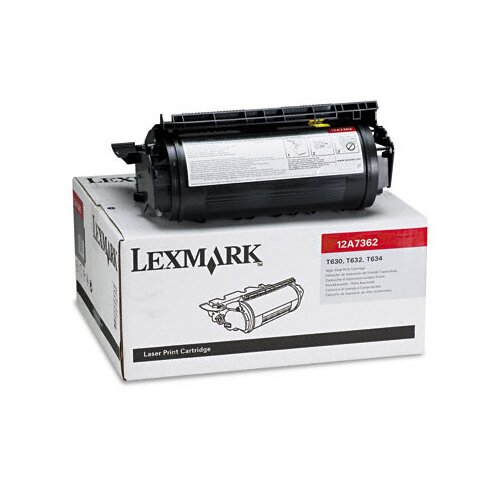 Lexmark International 12A7362 High-Yield Toner, 21000 Page-Yield
