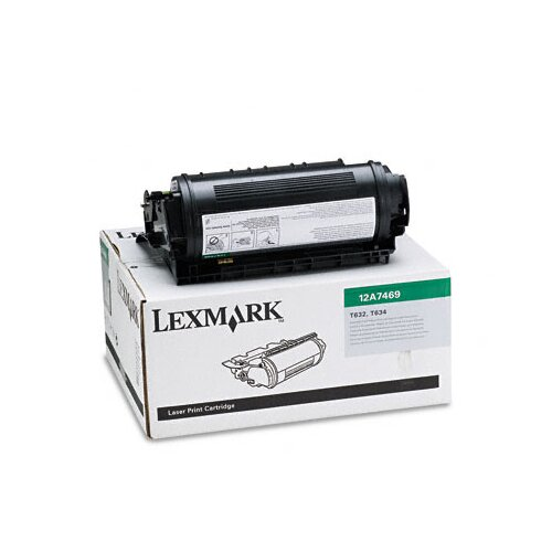 Lexmark International 12A7469 Extra High-Yield Toner, 32000 Page-Yield