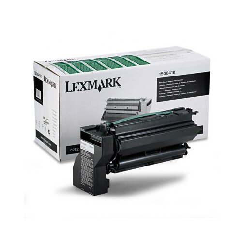 Lexmark International 15G041K Toner Cartridge, 6000 Page-Yield