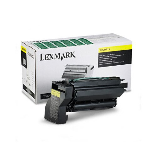 Lexmark International 15G041Y Toner Cartridge, 6000 Page-Yield