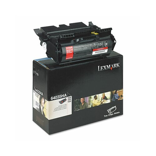 Lexmark International 64035HA Extra High-Yield Toner, 21000 Page-Yield