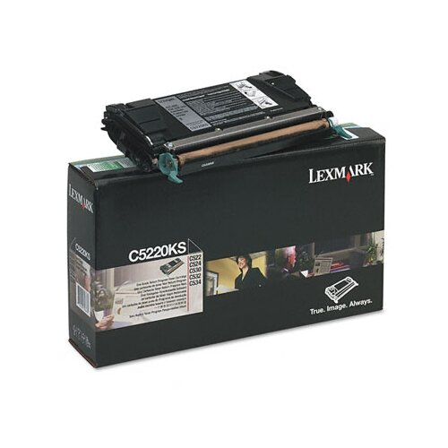 Lexmark International C5220KS Toner Cartridge, 4000 Page-Yield