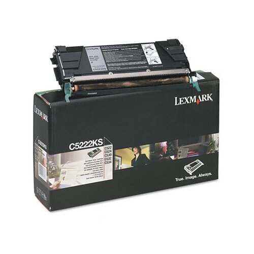 Lexmark International C5222KS Toner Cartridge, 4000 Page-Yield
