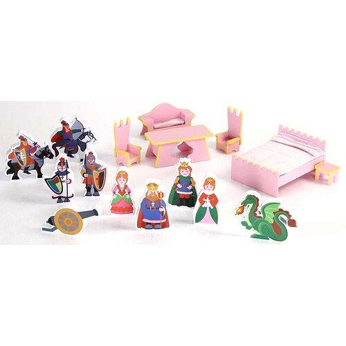 Castle Dollhouse 16 Piece Accessory Set
