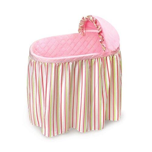 Badger Basket Embrace Bassinet with Bedding Set