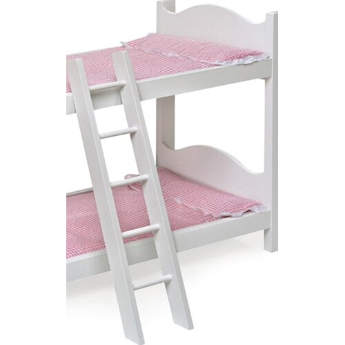 "Badger Basket Bunk Beds with Ladder and Storage Armoire for 20"" Dolls"
