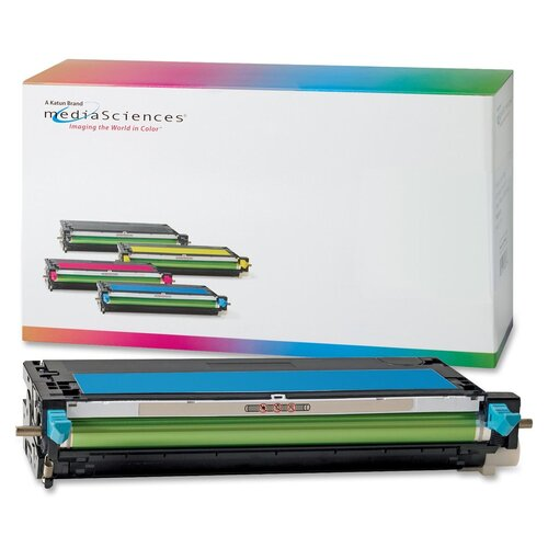 Media Sciences® High Capacity Toner Cartridge, 3,000 Page Yield, Cyan