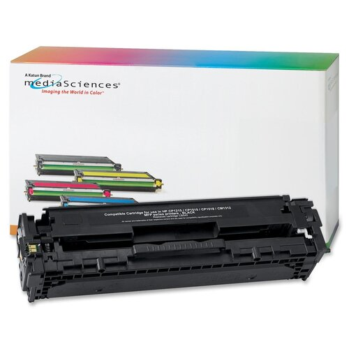 Media Sciences® Toner Cartridge, 2,000 Page Yield, Black