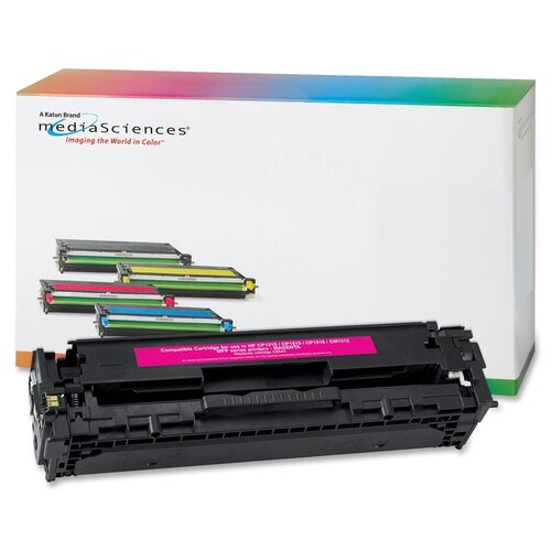 Media Sciences® Toner Cartridge, 1,400 Page Yield, Magenta