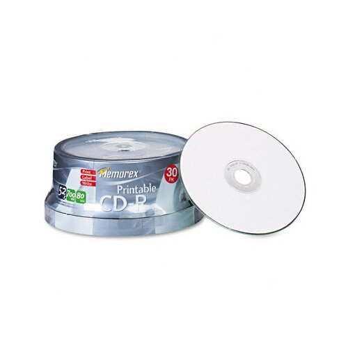 Memorex CD - R Discs, 30/Pack