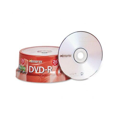 Memorex Dvd - R Discs, 25/Pack