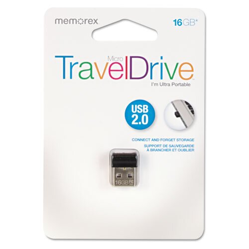 Memorex Micro Traveldrive USB 16GB Flash Drive