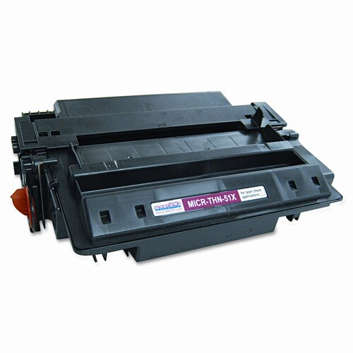 MicroMICR Corporation MICR Toner for LJ P3005, M3027/3035mfp; Troy P3005, Equivalent to HEW-Q7551X